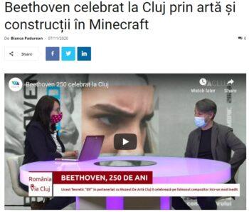Beethoven celebrat la Cluj